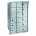 Centurian 2600 Series Horizontal Cluster Mailboxes - 17 Tenant Doors And 1 USPS Master Door