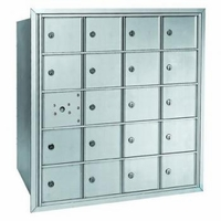 Centurian 2600 Series Horizontal Cluster Mailboxes - 19 Tenant Doors And 1 USPS Master Door