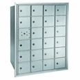 Centurian 2600 Series Horizontal Cluster Mailboxes - 23 Tenant Doors And 1 USPS Master Door