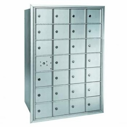 Centurian 2600 Series Horizontal Cluster Mailboxes - 27 Tenant Doors And 1 USPS Master Door