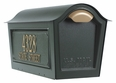 Chalet Mailbox w/2 Side Plaques - Green