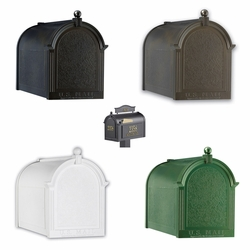 Black Liberty Mailbox Package