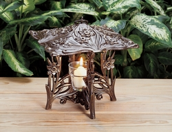 Daffodil Twilight Lantern - Copper Verdi