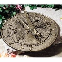 Dragonfly Sundial - Oil Rub Bronze