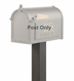 Standard Mailbox Post Aluminum 4'' x 4'' x 40'' (Choose Color)