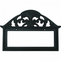 Filigree Frame Black 3x6, holds 5 tiles