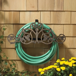 Foliate Hose Holder - Oil Rub Bronze