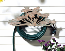 Frog Hose Holder - Copper Verdi
