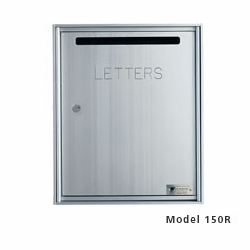 Fully Recessed, Rear Loading Colleciton Box - Anodized Aluminum