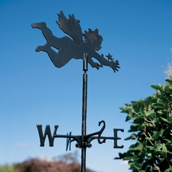 Garden Directions CHERUB Weathervane in Metallic Finishes