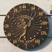 Golfer Thermometer - Copper Verdi