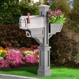 Granite Signature Plus Mailbox Package