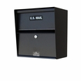 Horizontal Aluminum Wall Mount Letter Locker
