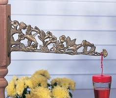 Hummingbird Nature Hook - Oil Rub Bronze
