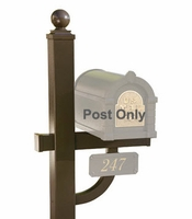 Keystone Series Deluxe Mailbox Post