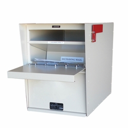 Standard Aluminum Rear Access Letter Locker