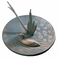 Loon Sundial - French Bronze