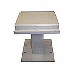 Metal Pedestal for American Locker CBU Type III & Type Iv