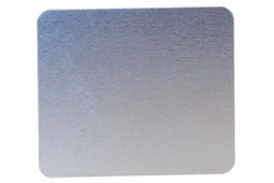 Number Plate: Metal Adhesive Blank - No Numbering