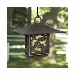 Oak Leaf Suet Feeder - Oil Rub Bronze