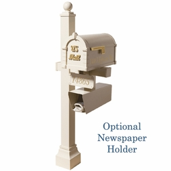 Signature Keystone Series Mailbox & Deluxe Double Mount Post Packages