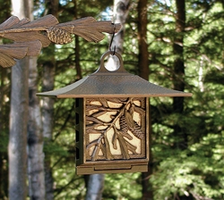 Pinecone Suet Feeder - Copper Verdi