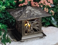 Pinecone Tea Lantern - Oil Rub Bronze