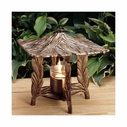 Pinecone Twilight Lantern - Oil Rub Bronze