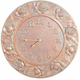 Rose Clock - Copper Verdi