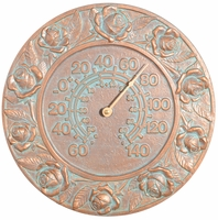 Rose Thermometer - Copper Verdi