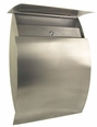 Stainless Steel Modern, Contemporary Capella Galaxy Mailbox