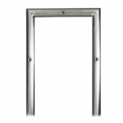 Stainless Steel Modern, Contemporary Wall Mount Mailbox