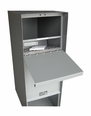Supreme Stainless Steel Rear Access Letter Locker