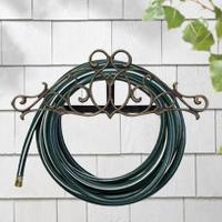 Tendril Hose Holder - Copper Verdi