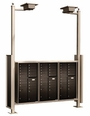 Vario Express III Mail Station / End-to-End / Standard (4C Mailboxes sold Separately)