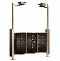 Vario Express IV Mail Station / End-to-End / Standard (4C Mailboxes sold Separately)