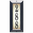 VERTICAL Lighted Address Plaque (Choose Frame & Numbers)