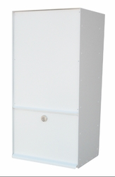Vertical Rear Access Wall Mount Letter Locker