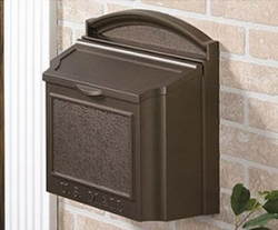 Wall Mailbox - Bronze (plaque purchased separately)