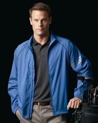 Adidas Golf Men's 3-Stripes Water-Resistant Jacket