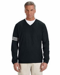 Adidas Golf Men's Colorblock V-Neck Pullover Windbreaker Jacket