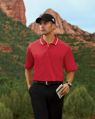 Adidas Golf Men's ClimaLite Tech Athletic Polo