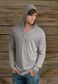 Alternative Men's V-Neck Pullover Hoodie