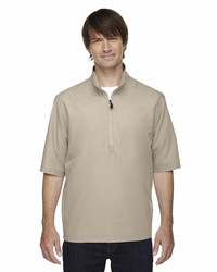 Ash City Men's Micro Plus Lined Short-Sleeve Wind Shirt