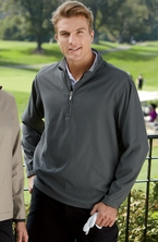 Ashworth Golf Men's Houndstooth Half-Zip Pullover