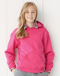Boys / Girls Fleece Hooded Pullover Sweatshirt