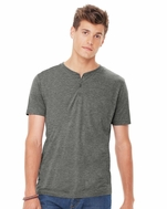 Canvas Men's Short Sleeve Henley (Item 3125-H)
