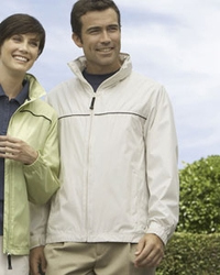 Devon & Jones Men's Wind and Water Resistant Jacket