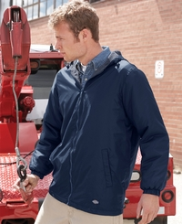 Dickies Men's Fleece Lined Hooded Jacket
