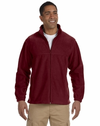 Harriton Men's Fleece Jacket with Pockets